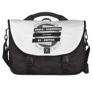 P/E Ratio versus EV/EBITDA Ratio Bag For Laptop