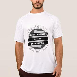 P/E Ratio versus EV/EBITDA Ratio T Shirt