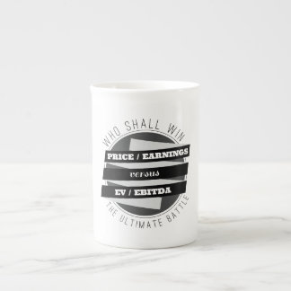 P/E Ratio versus EV/EBITDA Ratio Tea Cup