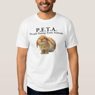 P.E.T.A. People Eating Tasty Animals T-Shirt