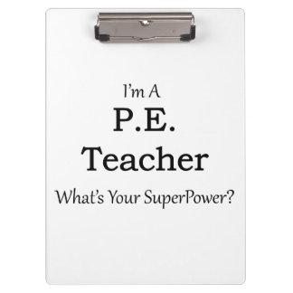 P.E. Teacher Clipboard