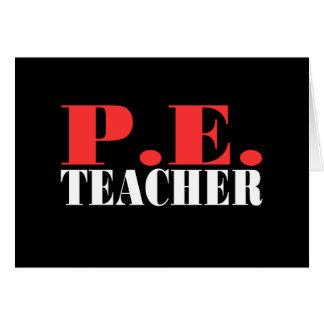 P.E. Teacher Gift Card