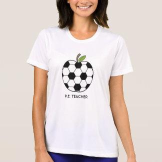 P.E. Teacher Shirt - Soccer Ball Apple