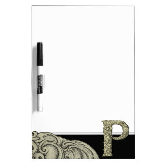 P - El alfabeto de Falck (de oro) Pizarras Blancas De Calidad
