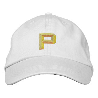 P EMBROIDERED BASEBALL HAT