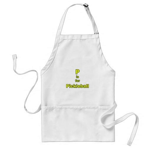 p está para el amarillo black.png del pickleball delantales