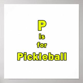 p está para el amarillo black.png del pickleball impresiones