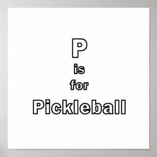 p está para el esquema only.png del pickleball poster