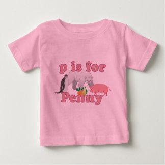 P está para el penique t-shirts