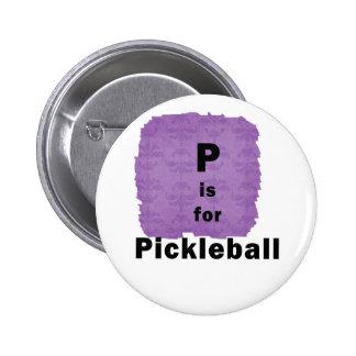 p está para el pickleball black.png pin