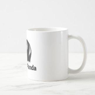 P está para la panda taza de café