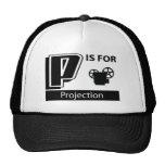 P está para la proyección gorra
