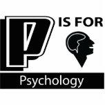 P está para la psicología escultura fotográfica