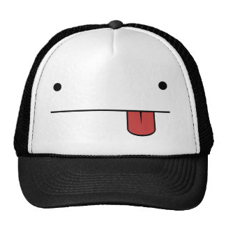 :P Face Trucker Hat