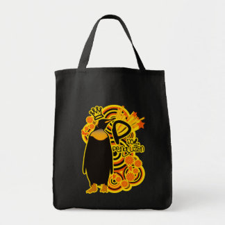 P for Penguin Canvas Bags