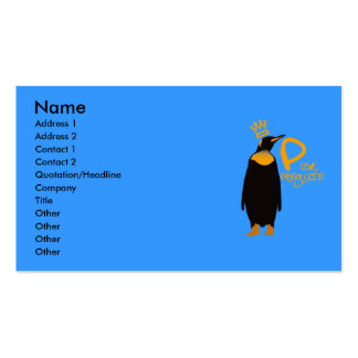 P for Penguin Business Card
