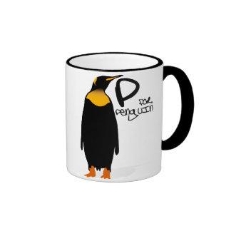 P for Penguin Mugs