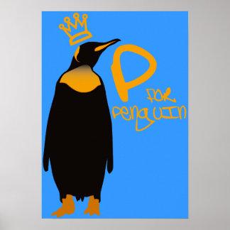 P for Penguin Print