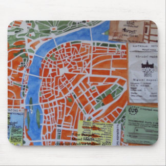 P for Prague Mouse Pad