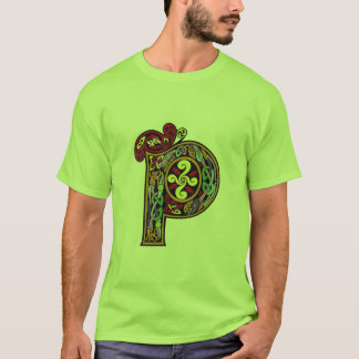 """""""P"""" For St. Patty's Day T-Shirt"""