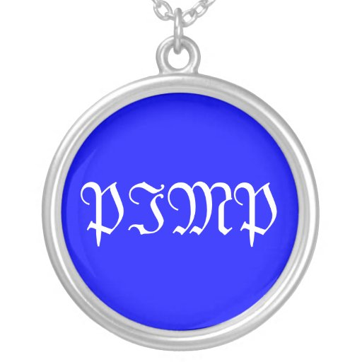 p-I-M-P Personalized Necklace
