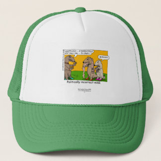 P.I. Mink (Human Stole) Cartoon On Cap