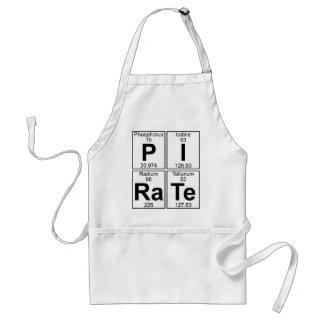 P-I-Ra-Te (pirate) - Full Adult Apron