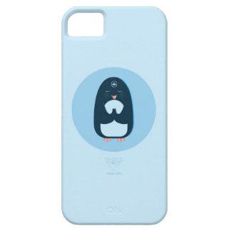 P is for namasté Penguin iPhone SE/5/5s Case