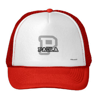 P is for Paola Trucker Hat
