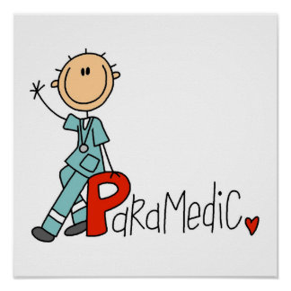 P is for Paramedic Poster