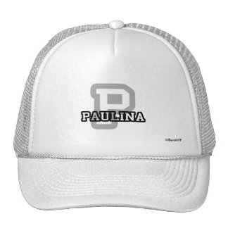 P is for Paulina Trucker Hat