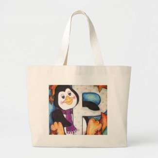 P is for Penguin bag