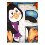 P is for Penguin Post Cards