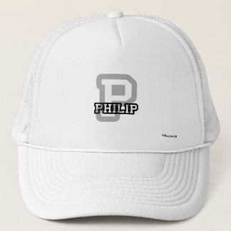 P is for Philip Trucker Hat