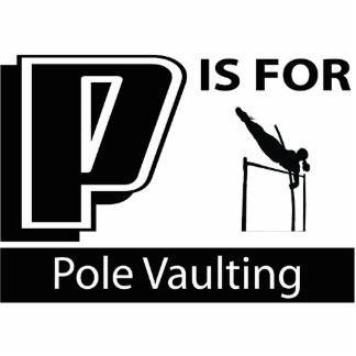 P Is For Pole Vaulting Cut Out