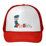 P is for Police Officer Trucker Hat
