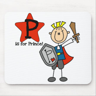 P is for Prince Mouse Pad