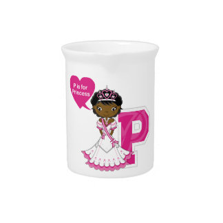 P is for Princess Beverage Pitcher