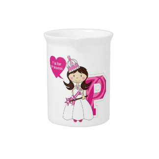 P is for Princess Drink Pitcher