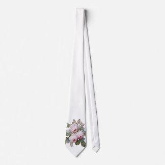 P.J. Redoute Bourbon Rose Bouquet Tie