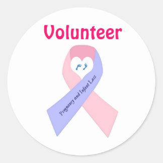 P&L1, Volunteer Classic Round Sticker