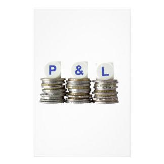 P&L - De ganancias y pérdidas Papeleria