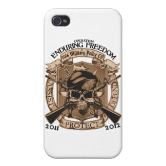 P M 1186 que aguanta la libertad iPhone 4 Cárcasas