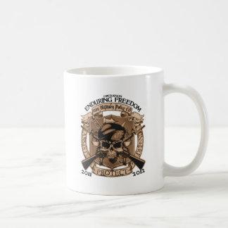 P.M. 1186 que aguanta la libertad Taza De Café
