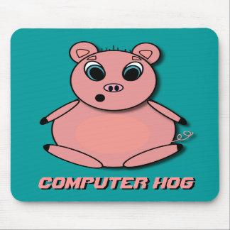 P.M. del cerdo del ordenador Alfombrillas De Ratones