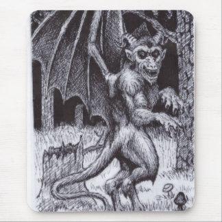 P.M. del diablo del jersey Tapete De Ratones