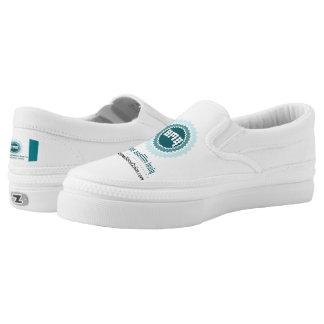 P.M.O.-Zipz Slip On Shoes, US Men 4 / US Women 6 Printed Shoes