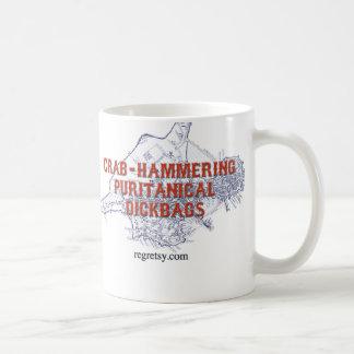 p classic white coffee mug