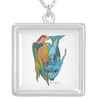 P.O.S.H. Darwin Sterling Silver Necklace & Pendant