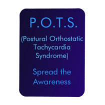 P.O.T.S. Spread the Awareness Magnet